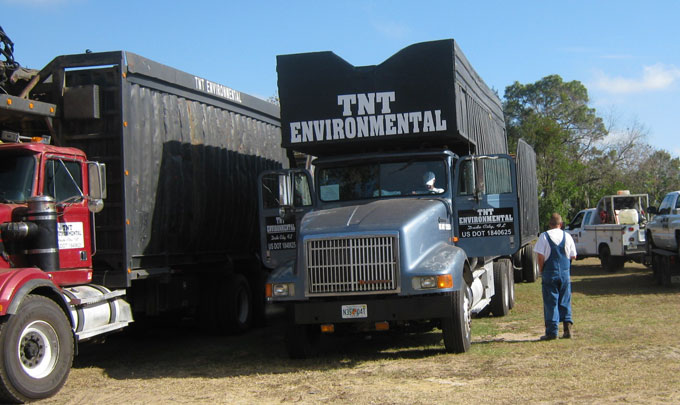 Spring Hill, FL debris removal and dumspter rental