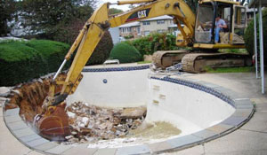 Spring Hill FL pool removal from TNT