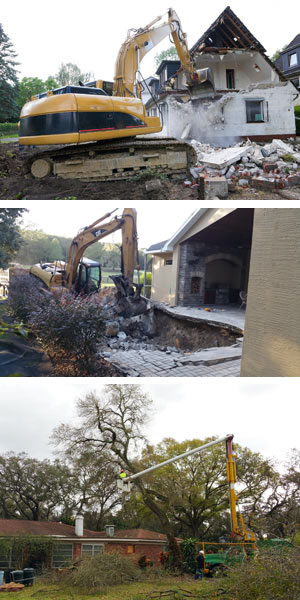 Demo, Pool Removal, Tree Removal and other Services from TNT