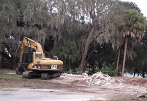 Land clearing service in Tampa, FL - Excavating in Tampa FL
