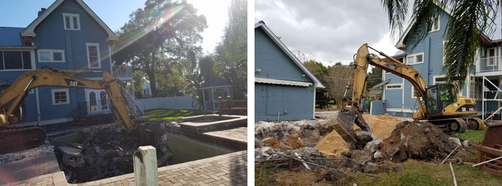 #1 Pool Removal in Tampa, FL from TNT Environmental